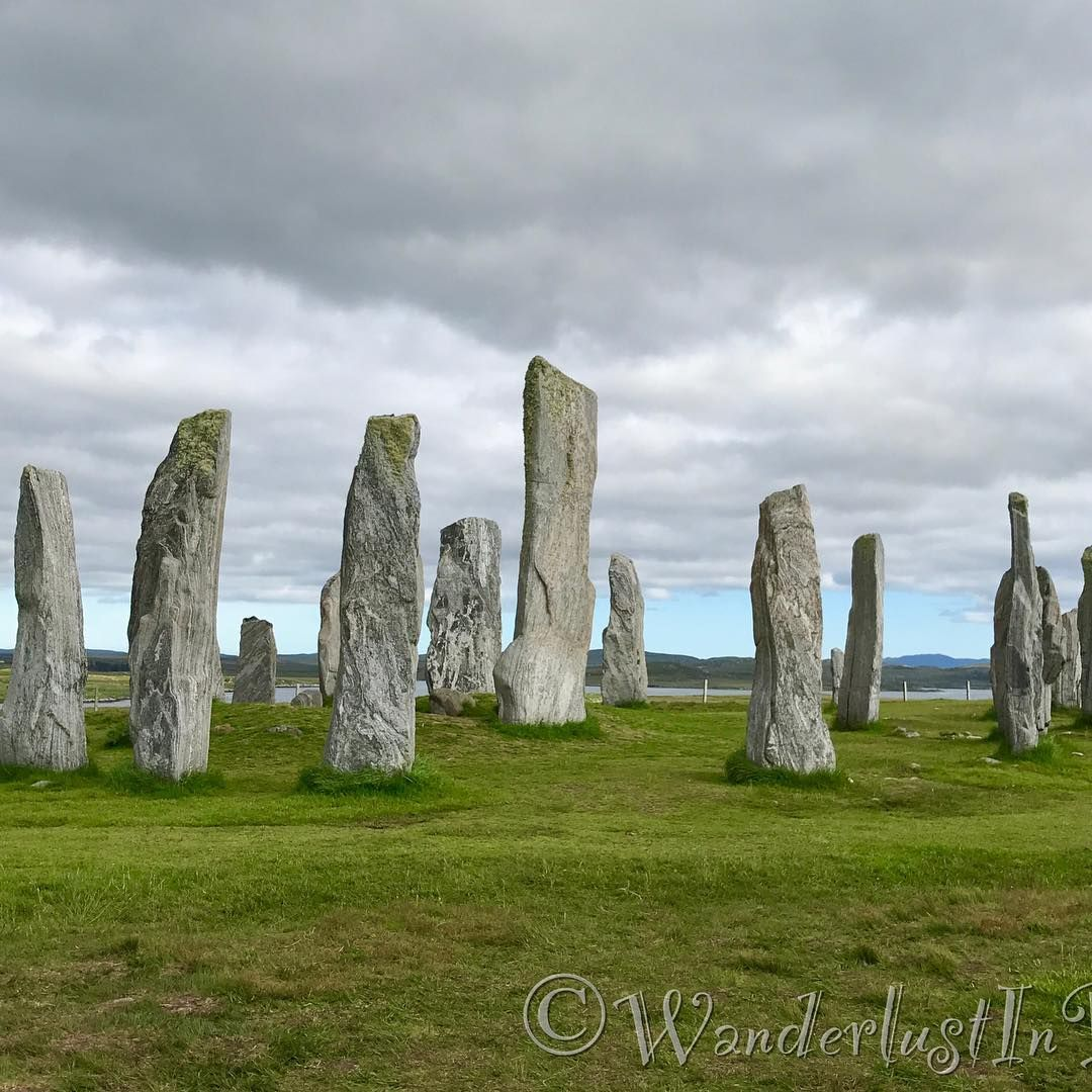 Summer Solstice At The Callanish Standing Stones On The Isle Of  # Magasins Fly A Colmac