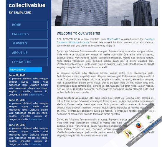 Free Website Templates Html Association Website Templates Association Owners Insurance Free