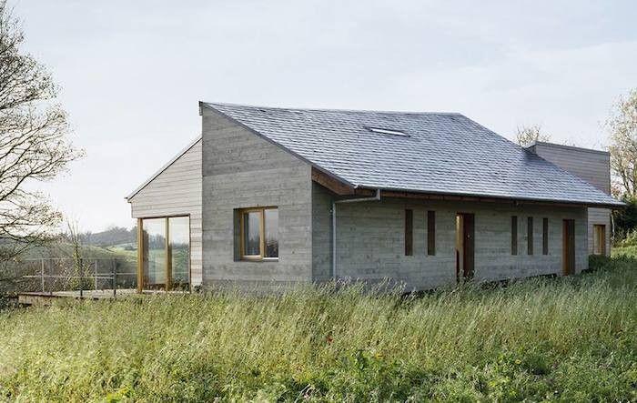 Hardscaping 101 Slate Roofing Tiles Gardenista Modern Farmhouse Exterior Shingle House Orange House