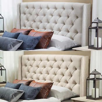 Kenneth Queen Double Wingback Headboard 279 99 At Costco