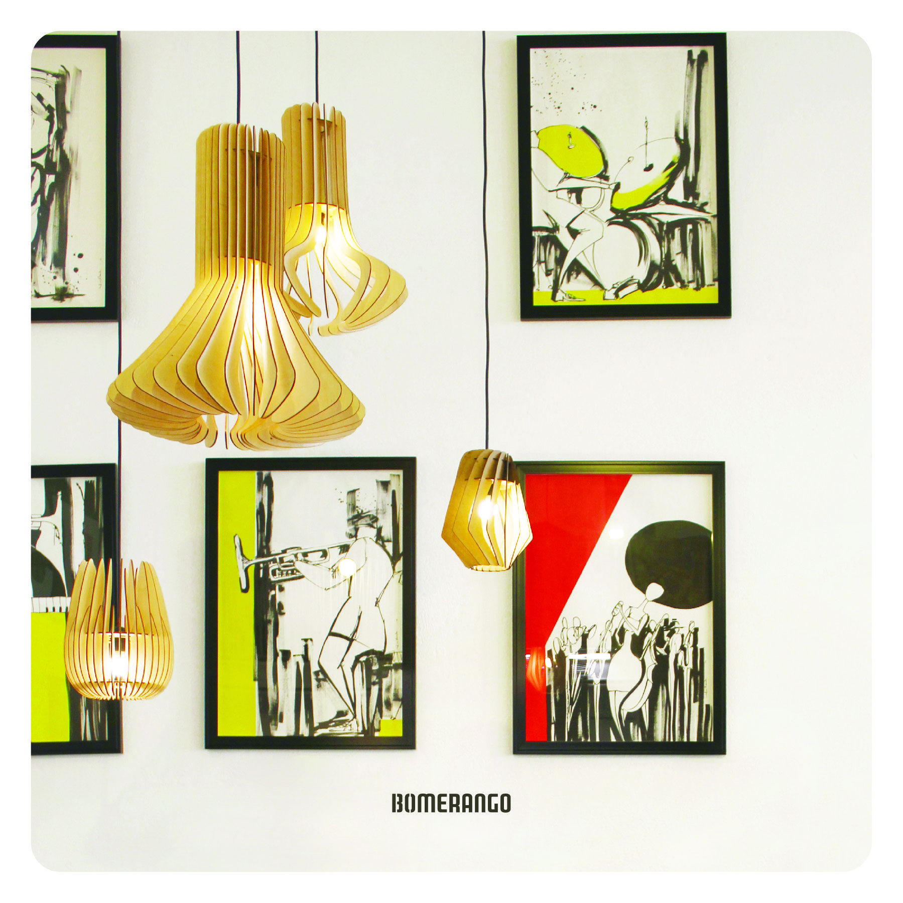 Our lamps available at Entre Led e Design Store