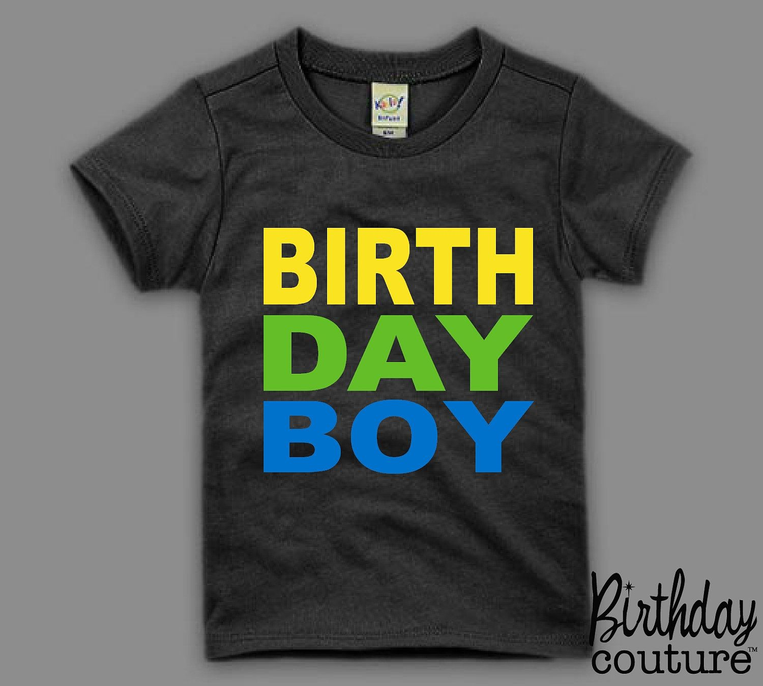 Birthday Boy Tshirt Birthday Boy Tee Fun Colorful