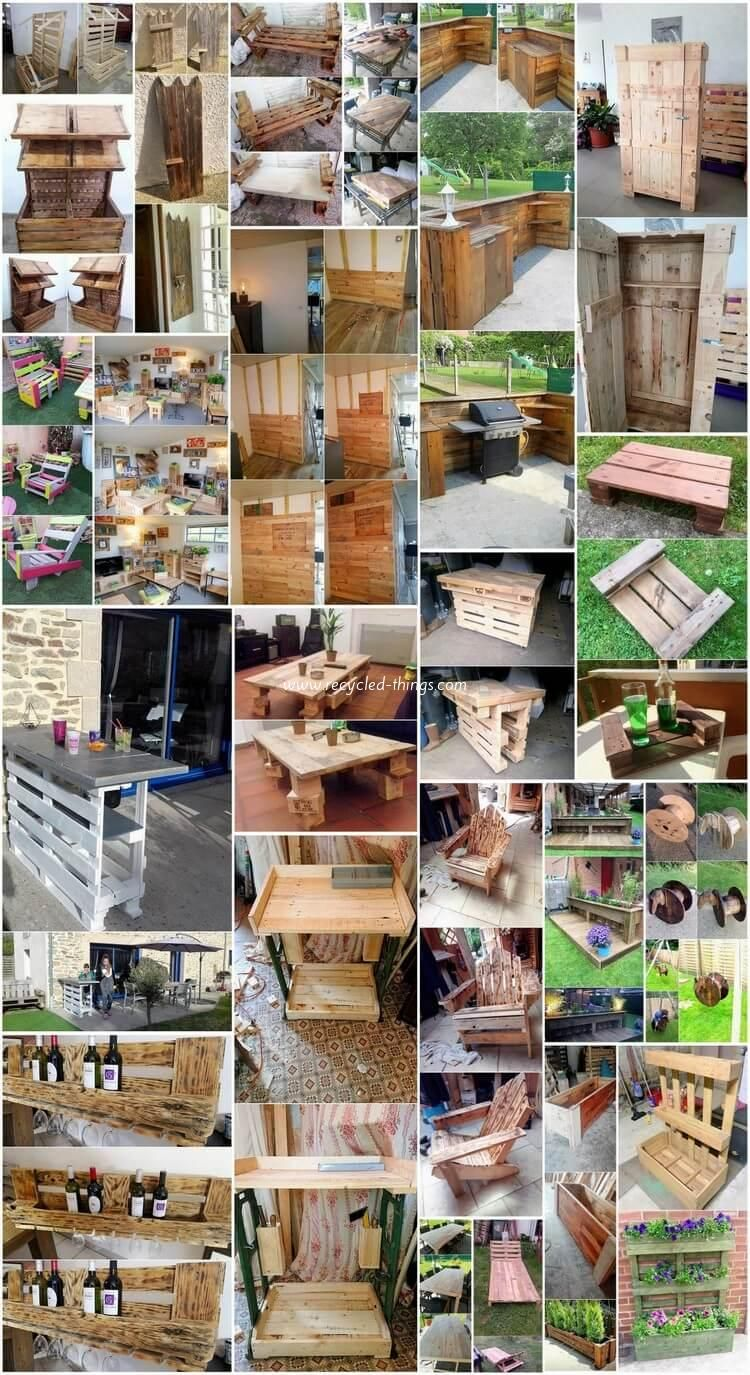 Classic Ideas For Old Wood Pallets Recycling Wood Pallet Recycling Wood Pallets Woodworking Projects Diy