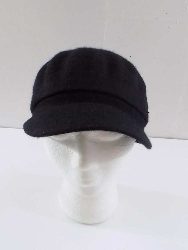 HT782 August Hat Company Women s Black Melton Love Modboy Hat NWT One Size   fashion   f8741646ca47