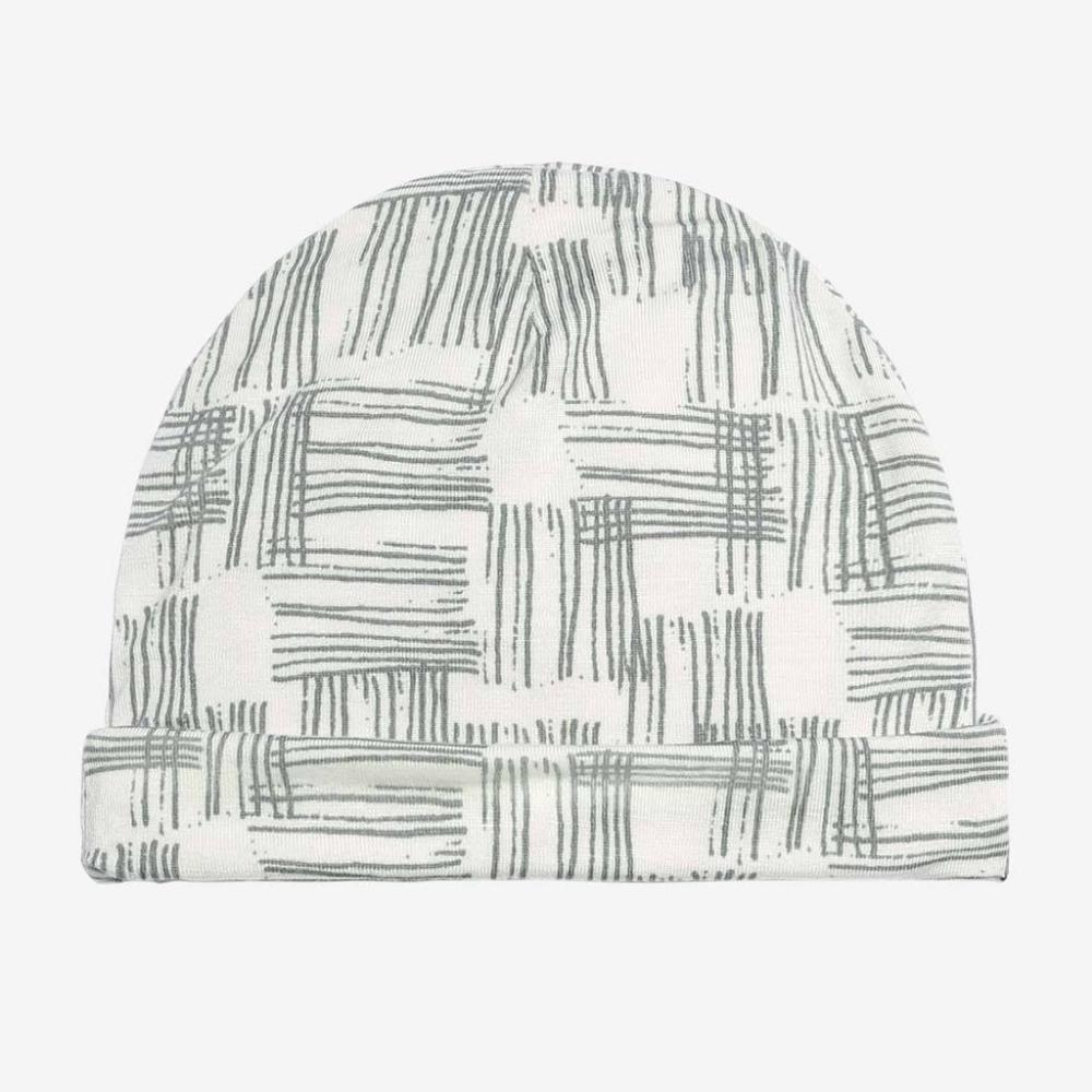 Pink and White Bamboo Hattie Stripe Hat