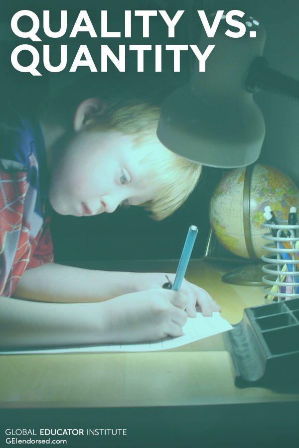 Do Your Homework on Homework via @GEIendorsed
