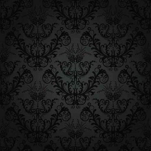 Amazon Com Luxury Charcoal Floral Wallpaper Peel And Stick Wall Decal Floral Wallpaper Gothic Pattern Textured Background