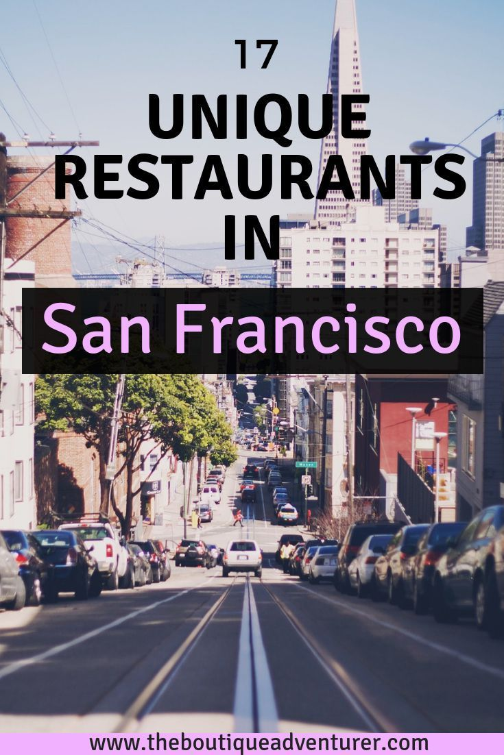 San Francisco is favorite destinations for foodies around the world. With a lot of unique restaurants, delicious food and trendy new concept, you might find difficult to choose where to eat in San Francisco. Use this list of 17 best restaurants in San Francisco and start exploring! #sanfrancisco #california #californiatravel #californialove