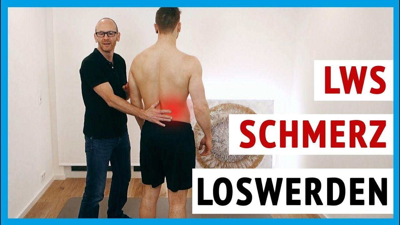 LWS Schmerzen 2 Übungen für zuhause - Lendenwirbelsäulen..