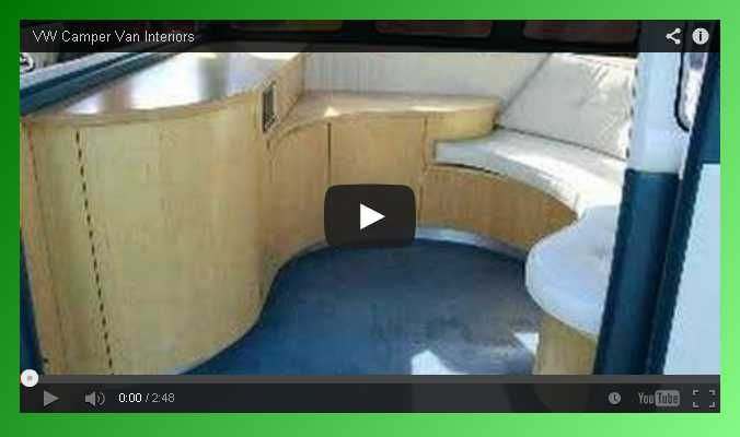 Great Video Of VW Camper Van Interiors