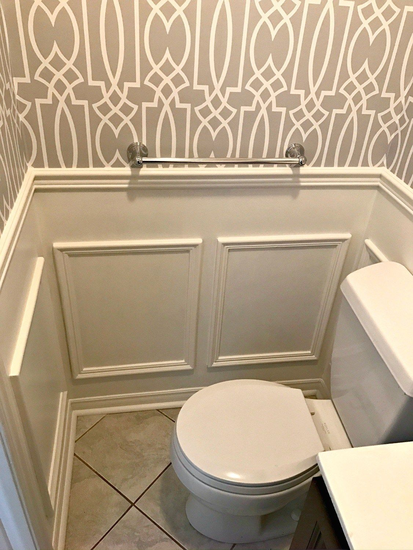 Powder Room Update - Week 3 - a purdy little house