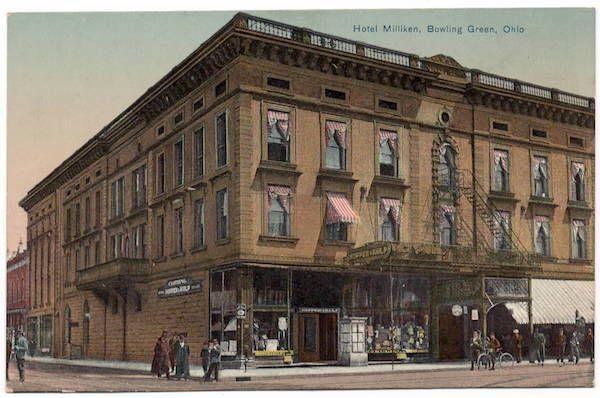 Postcard Hotel Milliken In Bowling Green Ohio 107264 Bowling Green Bowling Green Ohio Ohio