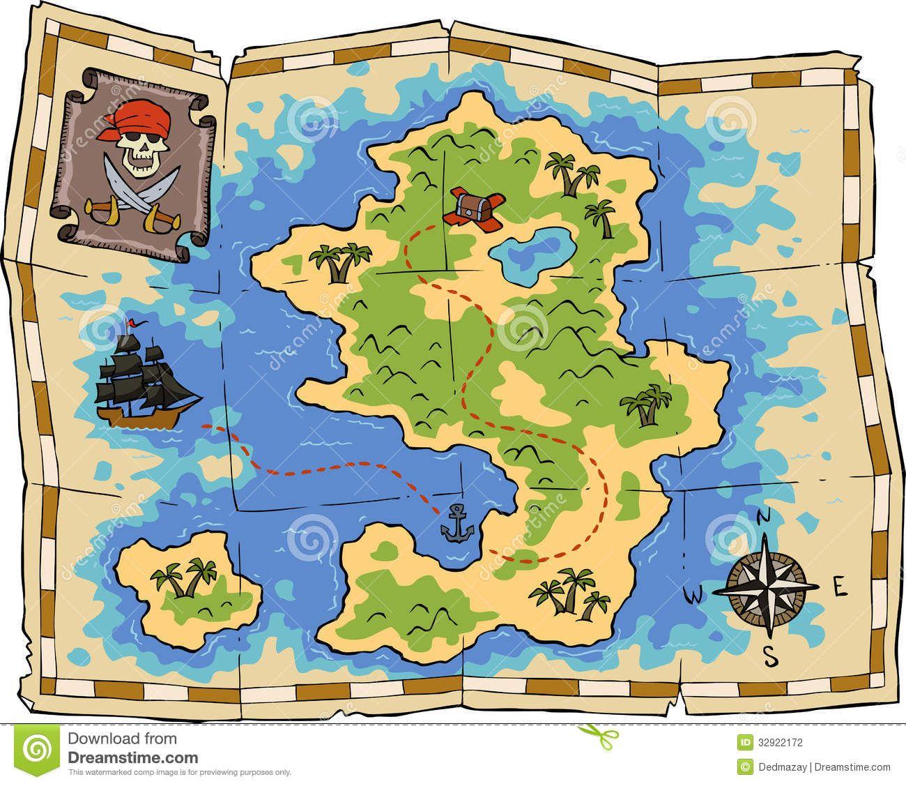 Pirate Treasure Map Rug: Treasure Map - Google Search