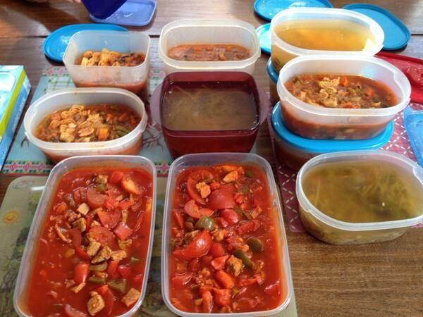 Een dag gekookt voor nieuwe mama's en hun gezin in de familie