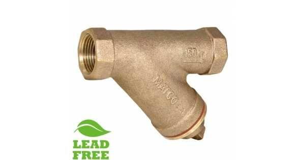 1 1 4 Fpt Cast Brass Y Strainer W Plug Lead Free Thing 1