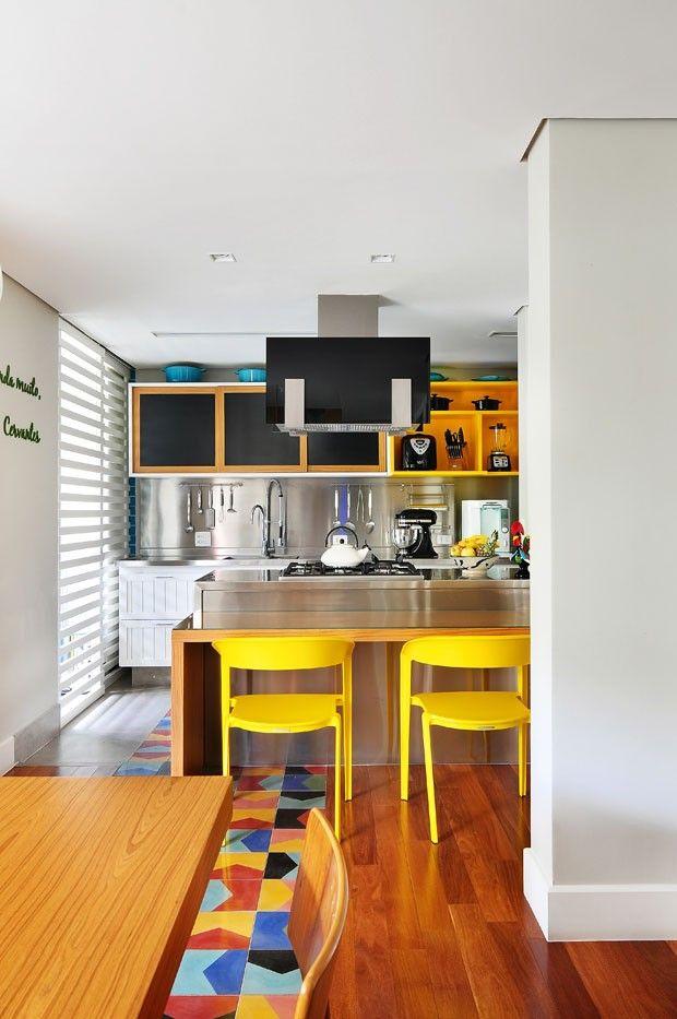 Cozinha colorida  #kitchen #homedecor #decoração