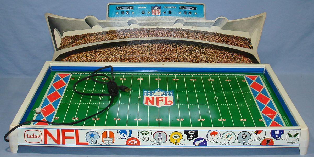 1970s toys vintage 1970s tudor nfl electric football