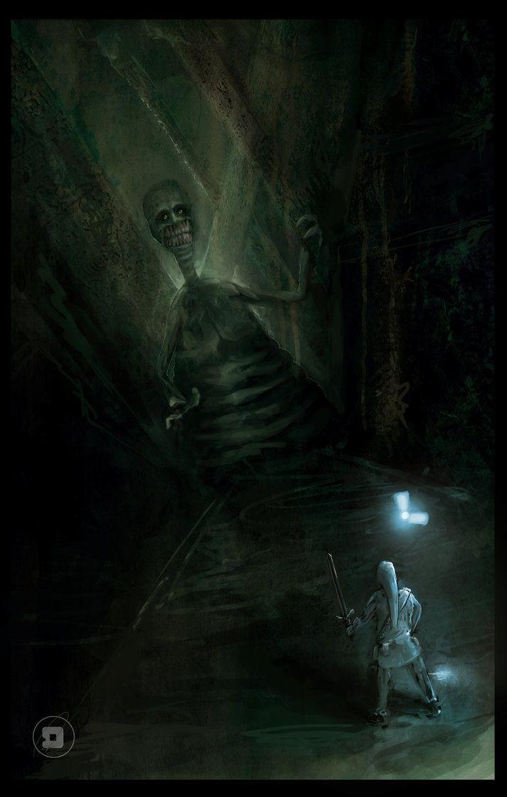 Zelda Shadow Temple Enemy by =LDamm