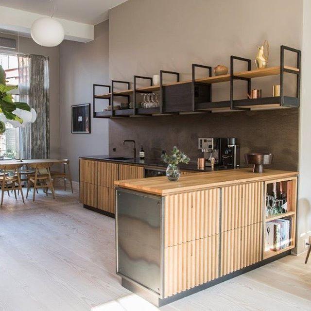 The new OeO kitchen #kitchencolab #oeodesignstudio #oak - möbel martin küche