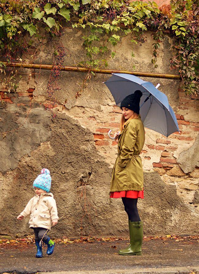 Cizmele din cauciuc pentru zile ploioase Fashion blogger