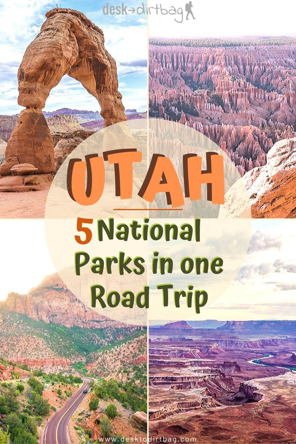 Southern Utah is probably the best place in the country for the sheer concentration of national parks and natural beauty, visit all five national parks (and more cool places) with this Utah national park road trip guide. #utah #nationalparks #roadtrip #outdoors #nationalparksroadtrip #scenicroads