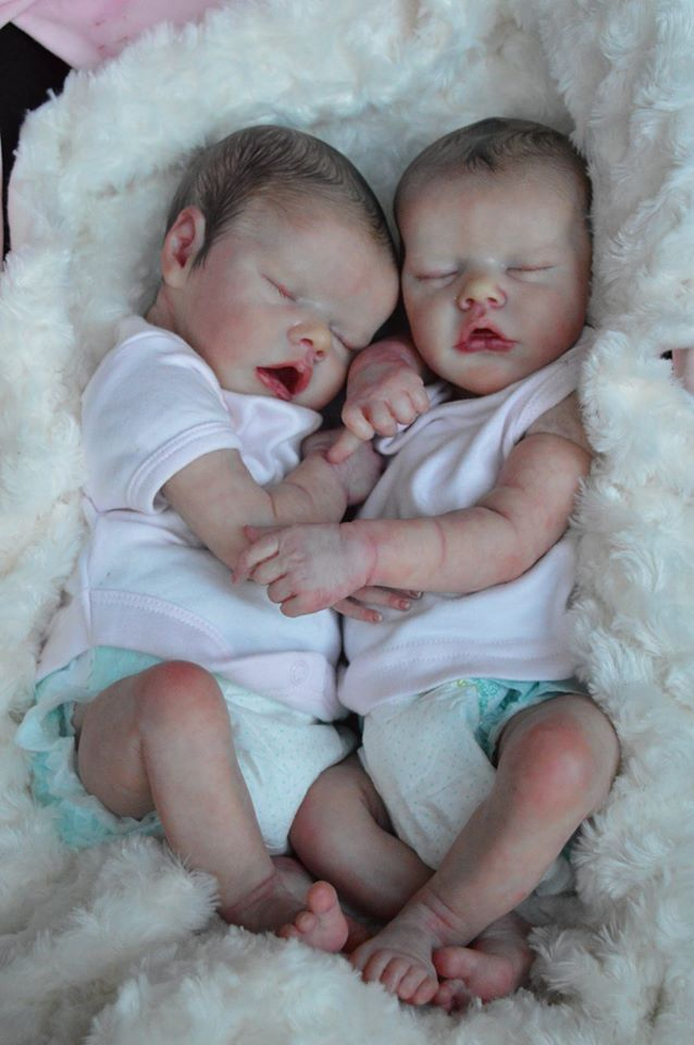 Amazing Twins Reborned By Kelly Dudley Reborn Dolls