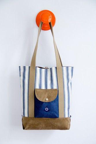 Handmade Kultur Shopper | Schnittmuster kostenlos, Umhängetasche und ...