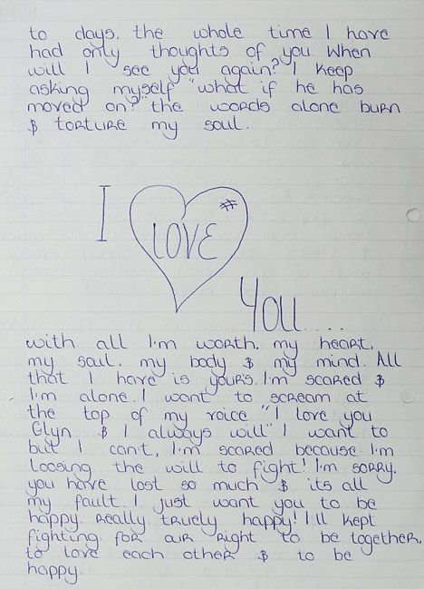 Doc600700 Romantic Love Letters Love Letters for Her Romantic – Sample Romantic Letters for Her
