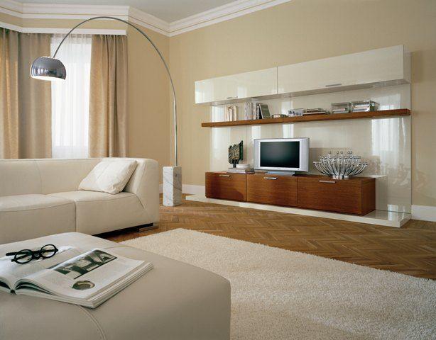 colori pareti soggiorno tortora | interno casa | dom nel ...
