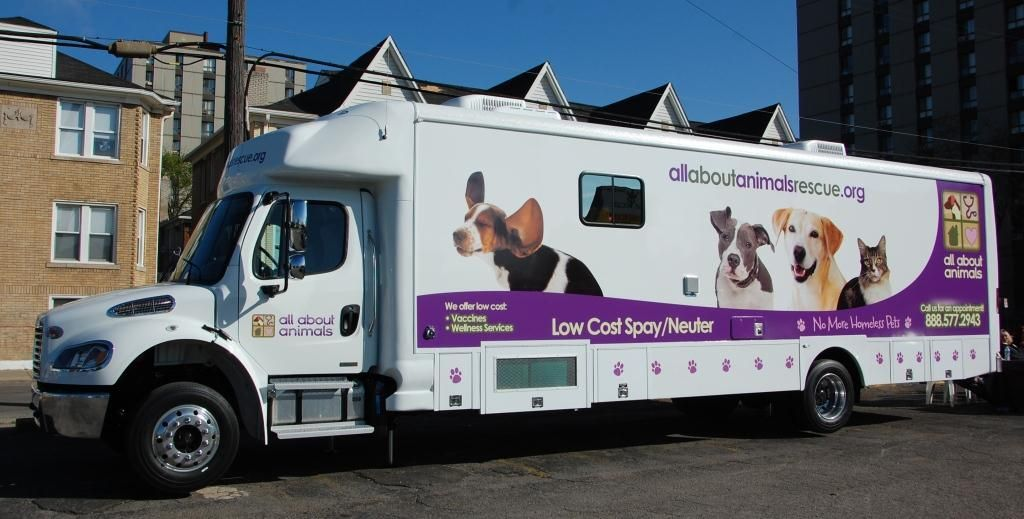 Mobile Van Neuter Veterinary Services Spay