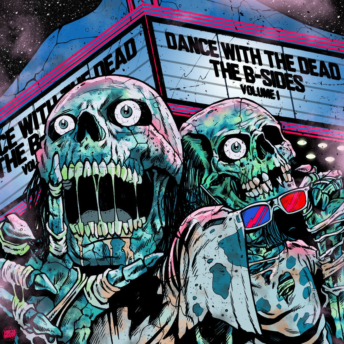 B Sides Volume 1 Dance With The Dead Retro Horror
