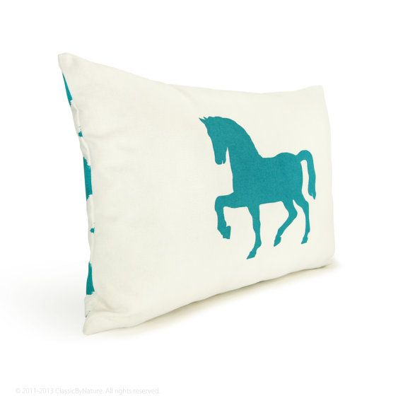 So Cute Colors And Ideas For L's Room Pinterest White Pillow Simple Horse Pillows Decor