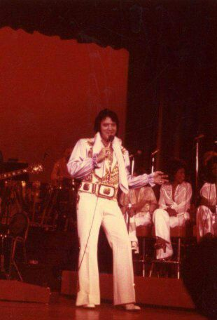 May 4, 1976: Elvis performed at the High Sierra Theater at the Sahara Tahoe Hotel, in Stateline, Nevada.