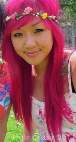 Crazy Color Cyclamen Pink Hair Multi Colored Hair Hair Color