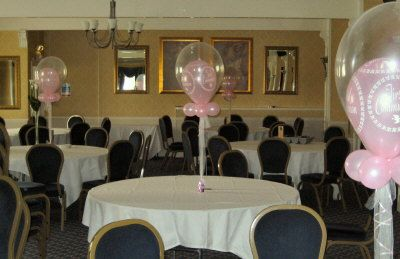 First Communion Party Decorations Ideas Balloon Tablecentre Pale
