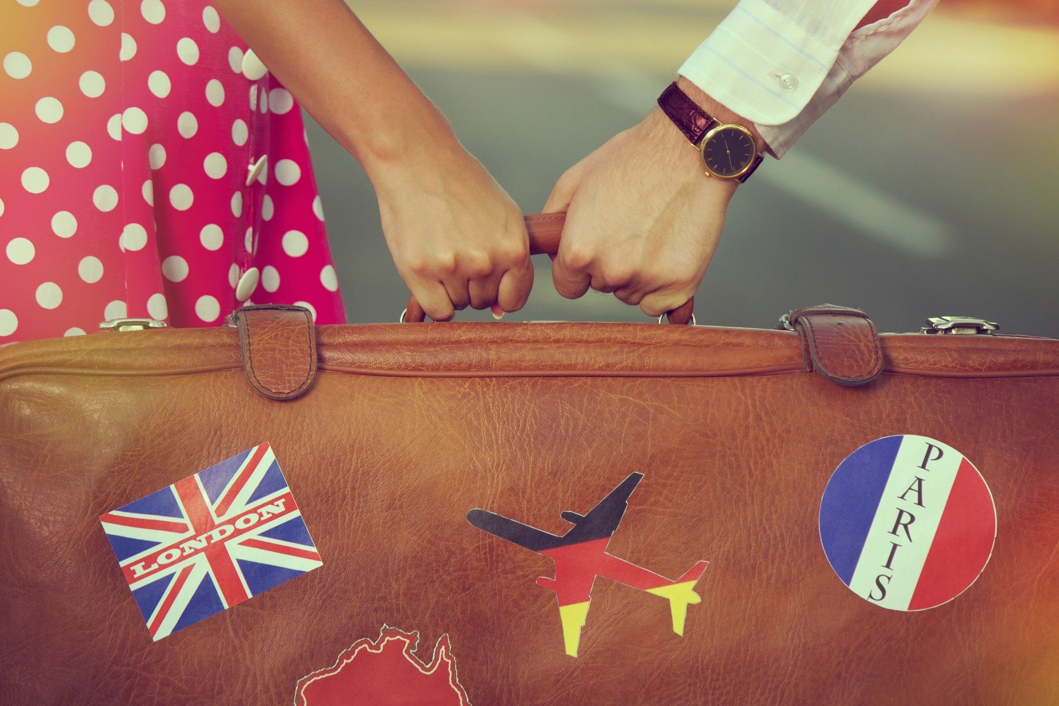Family travel tips to lessen stress traveling with