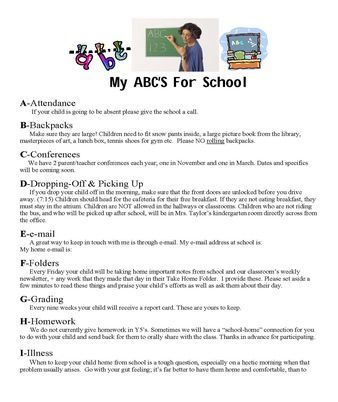 Back To School Ideas Classroom Management First Day Of School