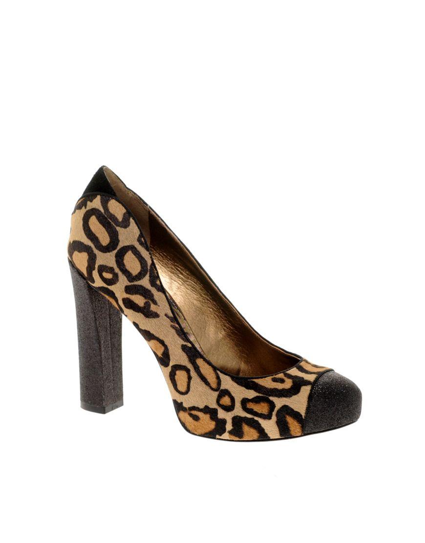 2d7a35bbe0602 Leopart print chunky block heel - Love  em Leopard Heels