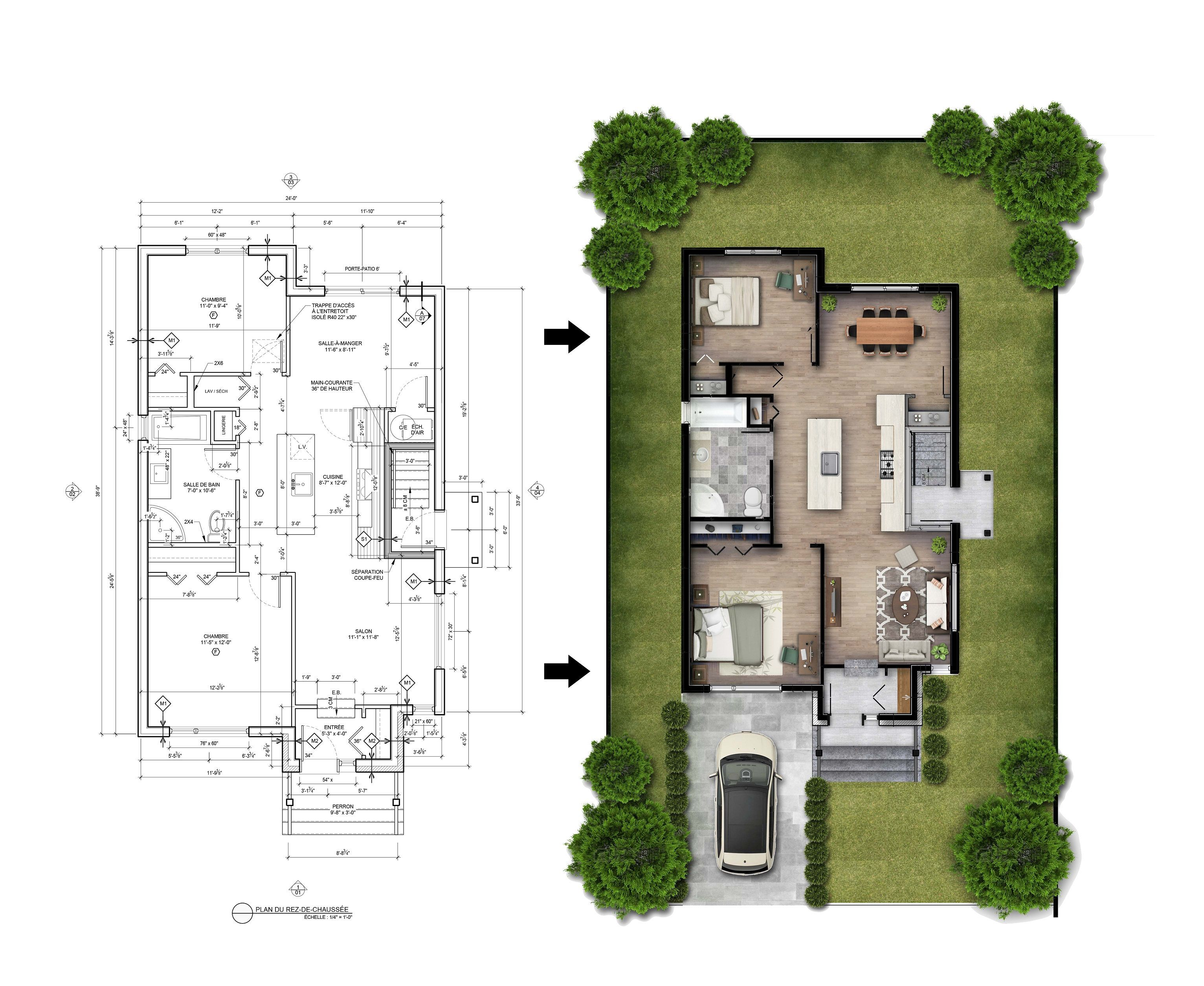Em Designs I Will Render Your Floor Plans In Photoshop For 20 On Fiverr Com Photoshop Rendering Interior Design Renderings Architectural Floor Plans