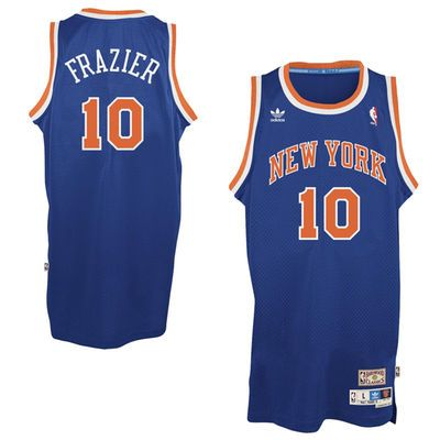 faa5aa50e3f ... Authentic Royal Blue Throwback Mens New York Mens New York Knicks Walt  Frazier adidas Royal Blue Hardwood Classics Swingman Jersey ...