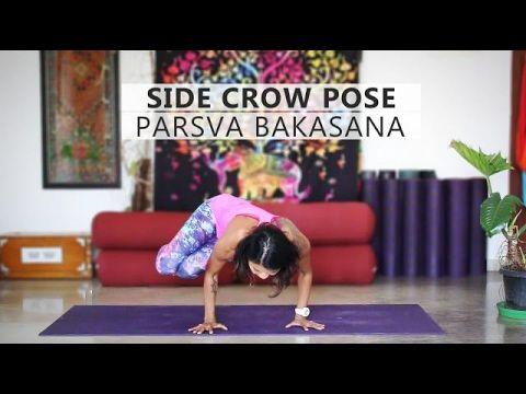 how to do parsva bakasana  side crow pose  side crow