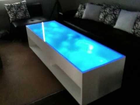 Light Colored Wood Coffee Table.Light Blue Led Coffee Table Alien Home Table Led Coffe Table