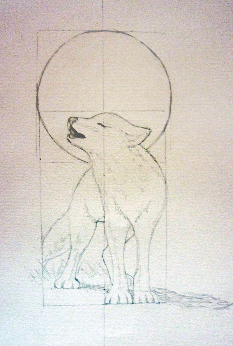 Wolf Tattoo 1 by FireLily18.deviantart.com