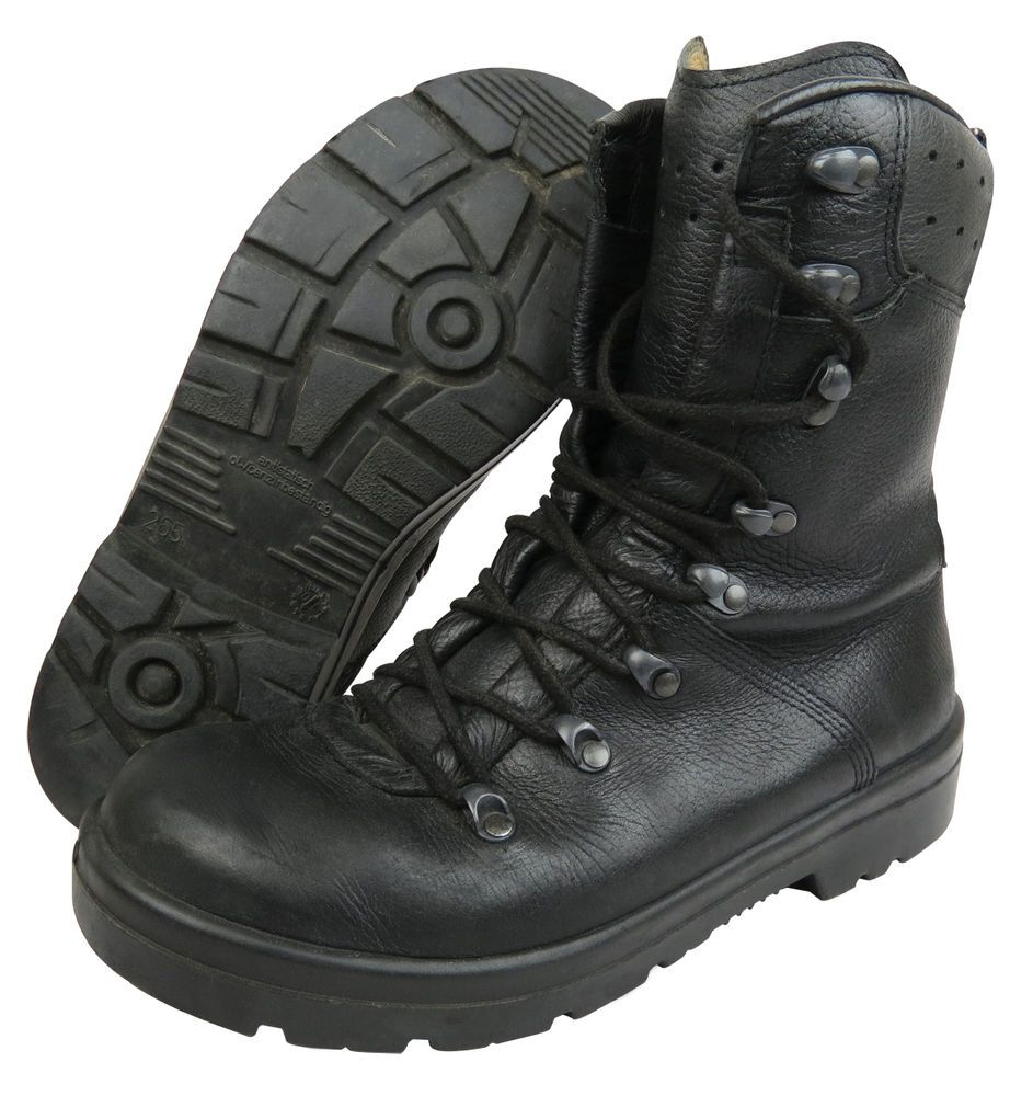 German Army Para Boots Grade 1 Great Boots Already Worn In