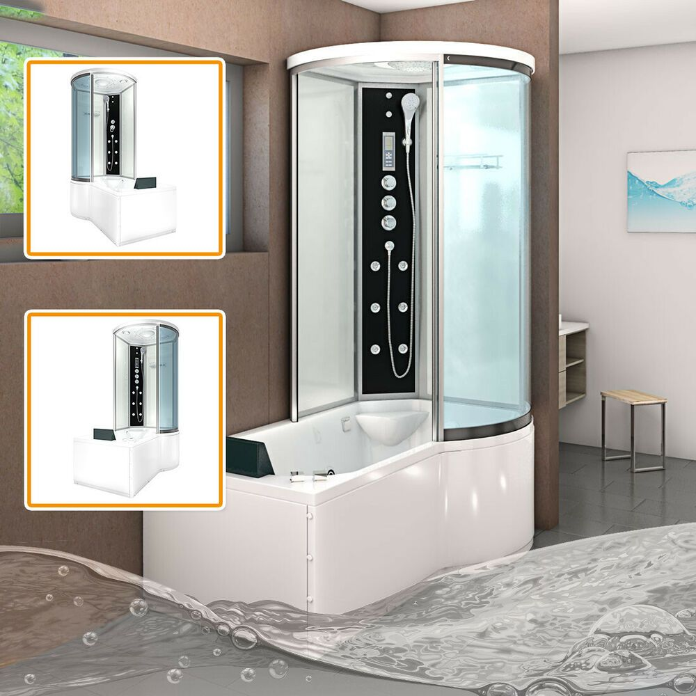 Acquavapore Dtp8055 Ws Whirlpool Badewanne Dusche Dusche Badewanne Ws Acquavapore Whirlpool Mit Duschkabine In 2020 Shower Cubicles Shower Cabin Steam Showers