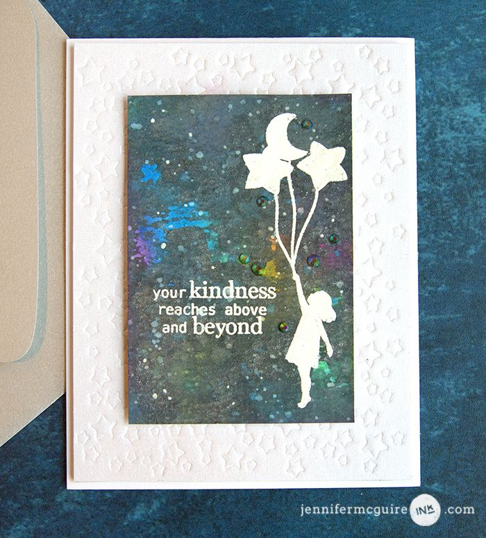 Easy Distress Oxide Galaxy Backgrounds Giveaway Jennifer Mcguire Ink Jennifer Mcguire Ink Jennifer Mcguire Cards Jennifer Mcguire