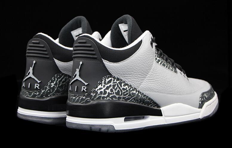 lowest price 99e57 7b0c6 Men Basketball Shoes Jordan 3s wolf grey 136064-004 Cheap ...