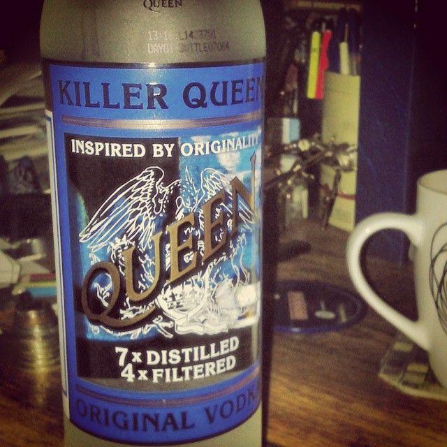 tonypringle:  #Vodka #queen #KillerQueen