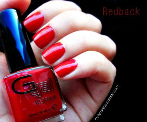Glitter Gal Australia's crème shade Redback, available