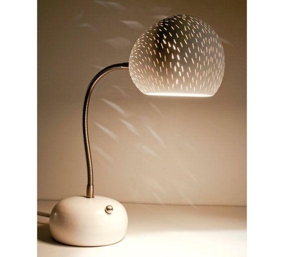 Lampe De Bureau Claylight Porcupine Led Touch Dimmer Fr Etsy Lamp Desk Lamp Ceramic Lamp